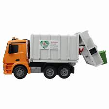 100 Garbage Truck Kids Rc 24G Radio Control Construction Rc Cement Mixer Fire