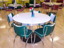 50s Dining Table Charming Images Of Retro Style Kitchen And Chair Attractive Room