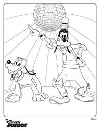 Mickey Mouse Clubhouse Coloring Pages Free 14 Kids