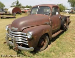 100 1950 Chevrolet Truck 3600 Pickup Truck Item DB9215 SOLD Augus
