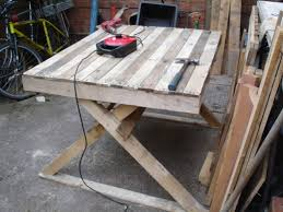 Build A Picnic Table Out Of Pallets by Making Pallet Picnic Table Boundless Table Ideas