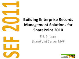 Opm Desk Audit Downgrade by Building Enterprise Records Management Solutions For Share Point 2010
