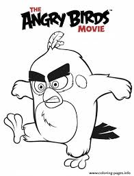 Angry Birds Movie Coloring Pages Print Download