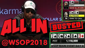 How Phil Ivey Busted The 2018 World Series Of Poker Main Event YouTube