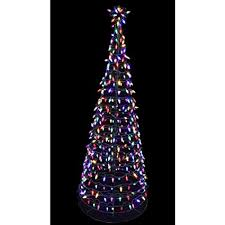 Pre Lit LED Tree Sculpture With Star
