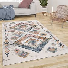 pile rug for the indoor area boho