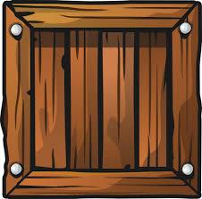 Free Dark Brown Crate Clip Art