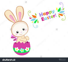 easter bunny clipart shutterstock