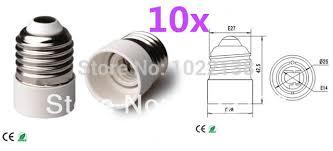 aliexpress buy 10pcs free shipping led e27 to e14 l light