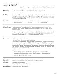 Example Of A Call Center Resume Customer Service Representative Beautiful