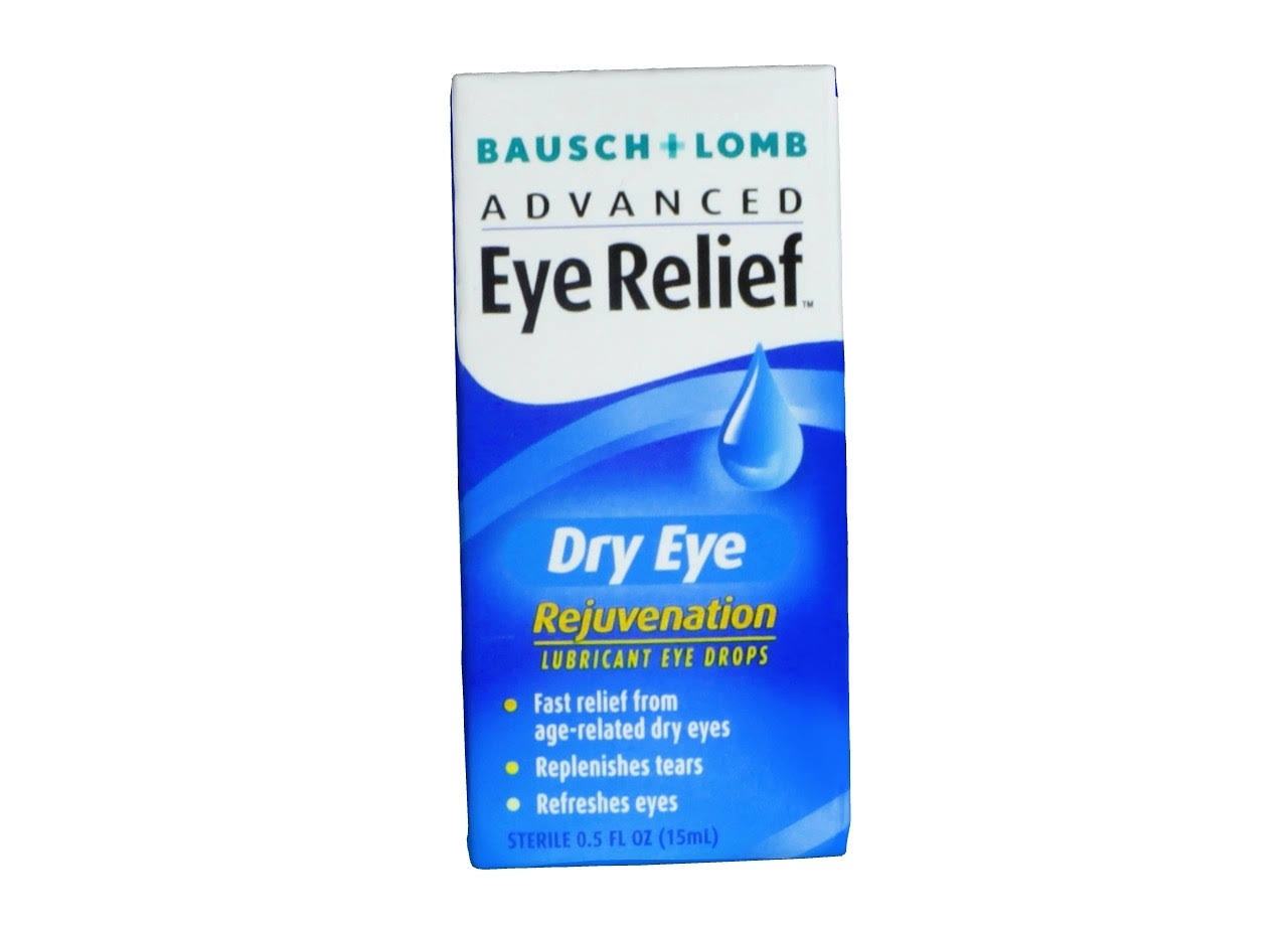 Bausch + Lomb Advanced Relief Dry Eye Lubricant Eye Drops - 0.5 fl oz