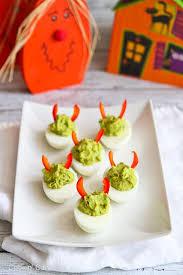 Pumpkin Throwing Up Guacamole With Cheese Dip by Fun Halloween Food Ideas Amee U0027s Savory Dish