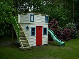 Childrens Castle Playhouse With Slide | Castles | The Playhouse ... A Diy Playhouse Looks Impressive With Fake Stone Exterior Paneling Build A Beautiful Playhouse Hgtv Building Our Backyard Castle Wood Naturally Emily Henderson Best Modern Ideas On Pinterest Kids Outdoor Backyard Castle Plans Plans Idea Forget The Couch Forts I Played In This As Kid Playhouses Playsets Swing Sets The Home Depot Pirate Ship Kits With Garden Delightful Picture Of Kid Playroom And Clubhouse Fort No Adults Allowed