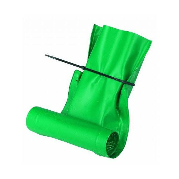 Frost King Automatic Plastic Drain Away Downspout Extender - 4', Green