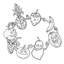 Fruit Coloring Pages 9