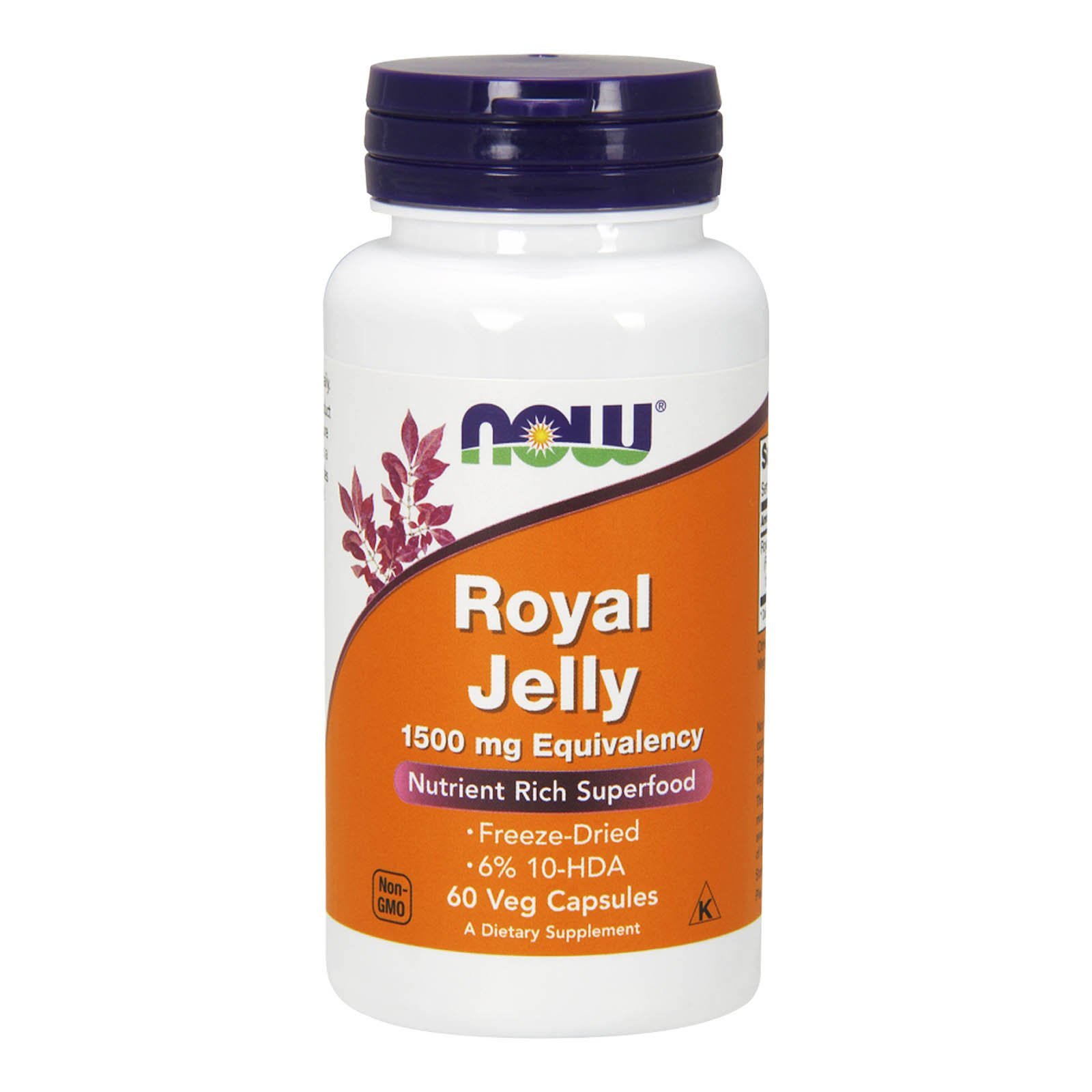 Now Foods Royal Jelly Supplement - 60 Capsules