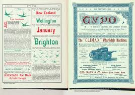 Page Spread Illustrating An Essay On New Zealands First Typographer Written By Don McKenzie