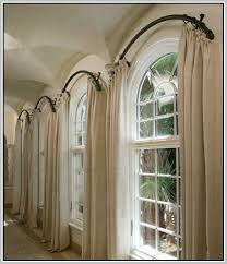 Twist And Fit Curtain Rod Target by Best 25 Curved Curtain Pole Ideas On Pinterest Arched Windows
