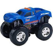 Adventure Force Wheel Standers Motorized Vehicle, Big Foot, Blue ...