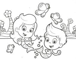Bubble Guppies Coloring Page 24