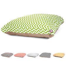 majestic pet zig zag rectangle pet bed dog pillow beds petsmart