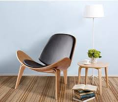 minimalistischen moderne design holz lounge stuhl wohnzimmer moderne design freizeit lounge stuhl holz pad natürliche walnuss holz stuhl