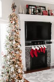 Pre Lit Pencil Christmas Trees by Best 25 Slim Christmas Tree Ideas On Pinterest Pencil Christmas