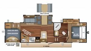 Jayco Fifth Wheel Floor Plans 2018 by Jayco Eagle Ht 29 5bhds 5th Wheel Floor Plan