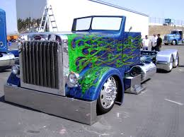 Blue Tricked Out Convertible Peterbilt With Green Skull Flames ... Trucking Dumpers Pinterest Peterbilt Trucks And 2010 389 Custom Trucks For Sale Used Peterbilt Trucks For Sale 2003 In Colorado For Sale Used On Buyllsearch Rowbackthursday Check Out This 1988 377 View More Freeway Sales In Indiana 579 Find At Arrow Grizzly Pickup Truck Google Search General Used Truck Call 888