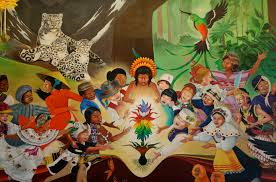 Denver International Airport Murals Artist by Jesus And The Kids Mural Jesus Christ Iesu Christos Yeshua