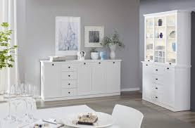 buffetschrank baxter in weiß im landhausstil 120 x 194 cm