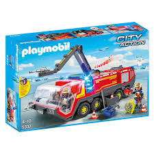 Playmobil - City Airport Fire Engine With Lights & Sound Playmobil 4820 City Action Ladder Unit Amazoncouk Toys Games Exclusive Take Along Fire Station Youtube Playmobil 5682 Lights And Sounds Engine Unboxing Wz Straacki 4821 Md With Rescue Playset Walmart Canada Toysrus Truck Emmajs Airport Sound Saves Imaginext Batman Burnt Batcopter Dc Vintage Playmobil 3182 Misb Ebay