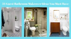 34 Guest Bathroom Makeover Ideas You Must Have - Rengusuk.com Glam Transitional Guest Bathroom Reveal With Marble Silver And Brass Contemporary Beach Themed Rhode Kitchen Bath Power Shower Archives The Ldon Co Double Sinks In The Granite Guest Bath Designed By Blake Taylor Ideas Decorating Small Bathroom Design But Blissful Ikea Hackers Vibrant Versatile Kohler Remodel Providence Ri 11 Design Dos Donts Beautiful 5 Decor Create A Welcoming Hgtv