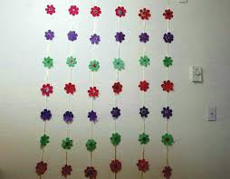 Diy Paper Wall Hanging For Party Birthday Festivals And Home Decorations