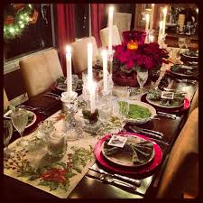 Captivating Table Setting For Christmas Dinner Ideas Best Image