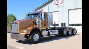 100 Tri Axle Heavy Haul Trucks For Sale 2008 Kenworth T800 131 Truck S YouTube