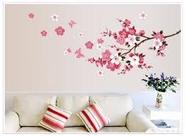 amazon com hunnt large pink sakura flower cherry blossom tree