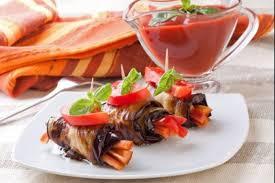 cuisiner les poivrons rouges recette de antipasti d aubergines aux poivrons rouges facile et rapide