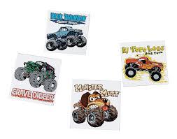 100 Monster Truck Tattoos Jam 50003 Masons 5th Bday Pinterest