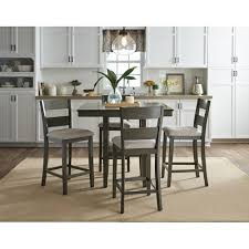 found it at wayfair ossian 5 piece counter height dining set