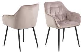 2x bruks esszimmerstuhl armlehne rosa stuhl set esszimmer stühle küchenstuhl