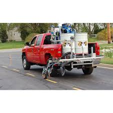 100 Lazer Truck Lines Graco Road RoadPak System Modular One Person Operation Road