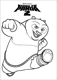 And More Of These Coloring Pages Kung Fu Panda 3