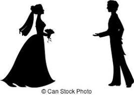 Bride Clipart Silhouette 6