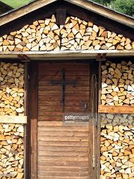 100 Log Cabins Switzerland Cabin Valais Stock Photo Getty Images