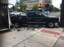 San Antonio, TX Pickup Driver Injured In Bus Accident On Broadway