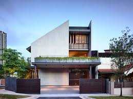 100 Semi Detached House Designs Gallery Of Cascading Courts HYLA Architects 1 Residential