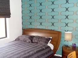 tapete in türkis verleiht wänden eine große ausdrucksstärke