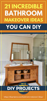 Bathroom Makeover Ideas You Can DIY | DIY Projects Bathroom Inspiration Using A Dresser As Vanity Small Remodel Ideas On Budget Anikas Diy Life 100 Cheap And Easy Prudent Penny Pincher Bathrooms Our 10 Favorites From Rate My Space Oiybathroomwallcorideas Urbanlifegr Top Just Craft Projects 30 Storage To Organize Your Cute 19 Amazing Farmhouse Decorating Hunny Im Home 31 Tricks For Making Your The Best Room In House 22 Diy Decoration The Decor