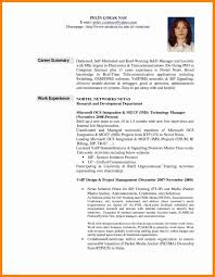 Resume Professional Summary Refrence Examples Inspirational Career